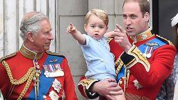 Prins Charles en prins William weigerden ontmoeting met Trump