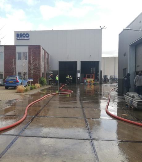 Brand bij bedrijf op Containerweg in Waddinxveen onder controle