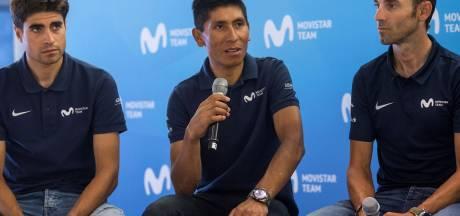 Movistar begint met drie kopmannen aan Tour