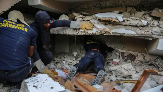 Dodental aardbeving Haiti schiet verder omhoog naar bijna 1300, ruim 5700 mensen gewond