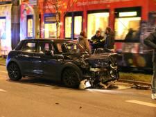 Flinke schade na aanrijding Elandstraat