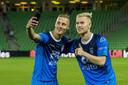 Silvester van der Water en Lennart Czyborra namen in Groningen de Almelose doelpunten voor hun rekening.