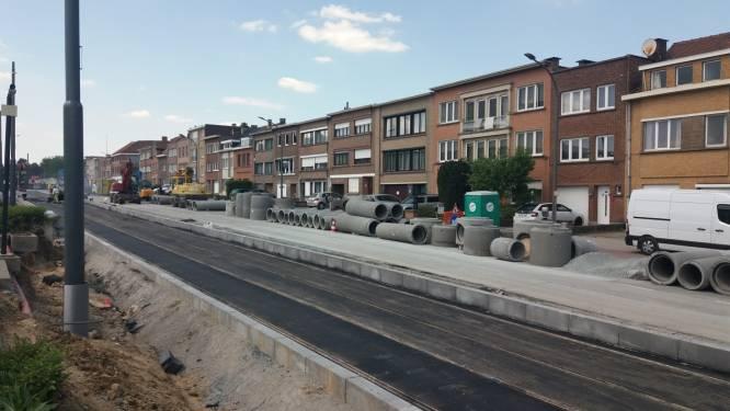 Inspectie van riolering op Dansaertlaan