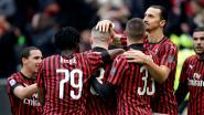 Zlatan mist de kansen, Rebic scoort wel twee keer: AC Milan met veel moeite voorbij Udinese