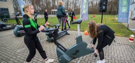 Sportief protest bij The Chariot in Eibergen: 'Stilzitten is geen optie'