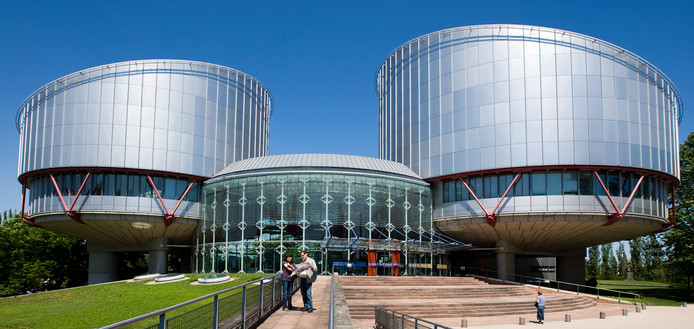 Europees Hof voor de Rechten van de Mens in Straatsburg.