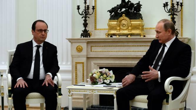 """Poetin en Hollande: """"Noodzakelijk om samen terrorisme te bestrijden"""""""