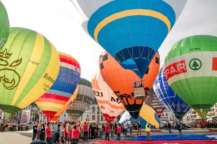 Geen Vredefeesten en dus ook geen ballonspektakel op de Grote Markt, maar toch zullen er dit weekend heel wat ballons het Wase luchtruim kleuren.