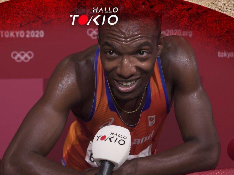 Bonevacia volledig gesloopt na finale 400 meter: 'Heb gelopen met ballen en hart'