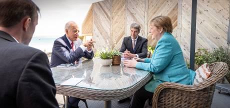Merkel en Biden strijken plooien glad: band tussen Duitsland en VS 'sterker dan ooit'