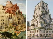 Deze 'Bijbelse' toren (maar nu zonder spraakverwarring) herrijst in hartje Rotterdam