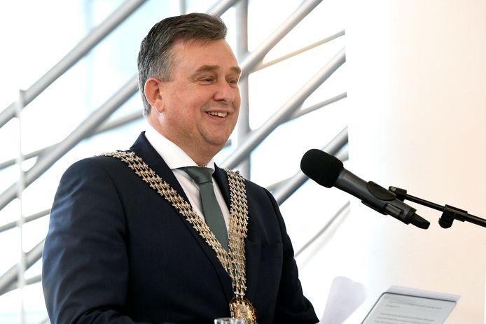 Emile Roemer, hier als waarnemend burgemeester van Heerlen.