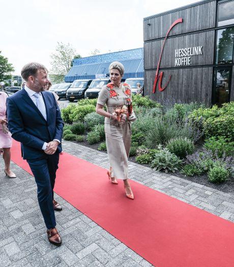 Verrassing voor personeel koffiebedrijf Winterswijk: 'De koningin komt zo ons nieuwe pand openen'