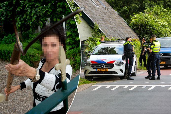 Jacqueline de R. stelde dat overvallers het op haar gemunt hadden. Volgens de politie zit de vork anders in de steel.