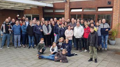 Tientallen ouders helpen LAB-school verhuizen