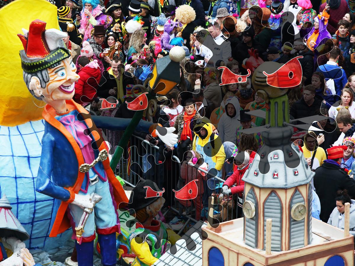 Carnaval in Kielegat (Breda).