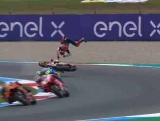 MotoGP opgeschrikt door spectaculaire crash zesvoudig wereldkampioen Marquez