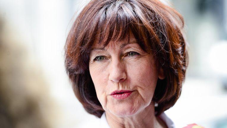 Laurette Onkelinx (PS) Beeld BELGA