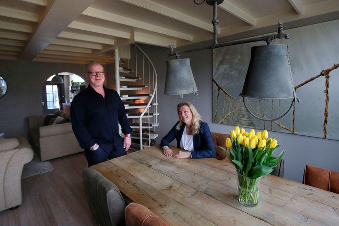 De woning van Rens en Ciska in Leerdam.