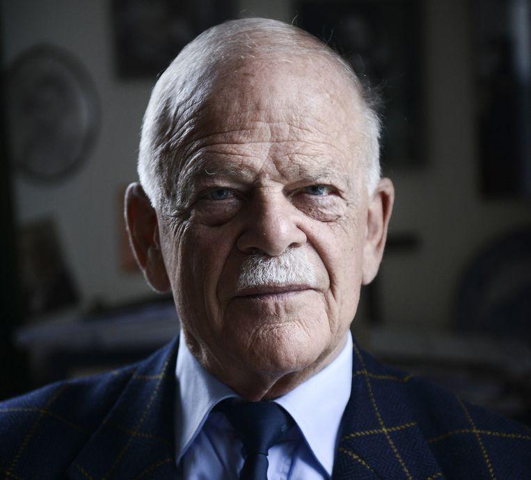 Bas de Gaay Fortman, was lid van de Staten-Generaal van 1971 tot 1991 Beeld Bram Petraeus