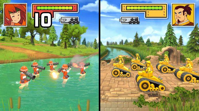 De tactische klassiekers 'Advance Wars' komen naar een groter scherm.