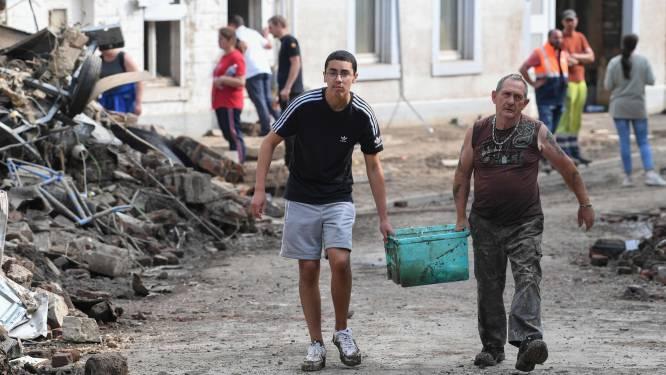 Federale regering maakt noodbudget van 20 miljoen vrij voor slachtoffers van overstroming
