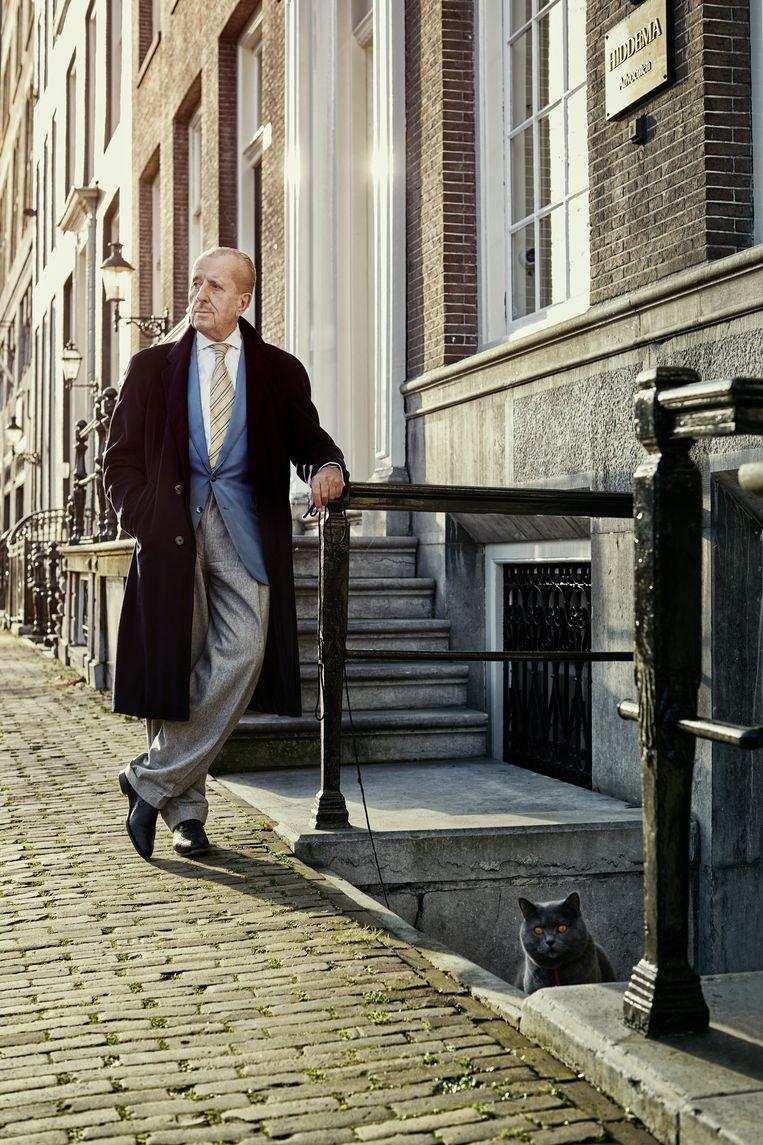 Theo Hiddema: 'Kom ik toch weer in de Kamer, dan ga ik Baudet niet in de gaten houden. Ben je besodemieterd, ik ben geen Pleegzuster Bloedwijn.' Beeld Manon van der Zwaal