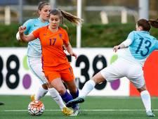 Pelova debuteert in selectie Oranje Leeuwinnen op trainingskamp Spanje