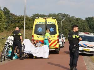Fietsende vrouw door 'projectiel' geraakt op Moerputtenweg in Den Bosch