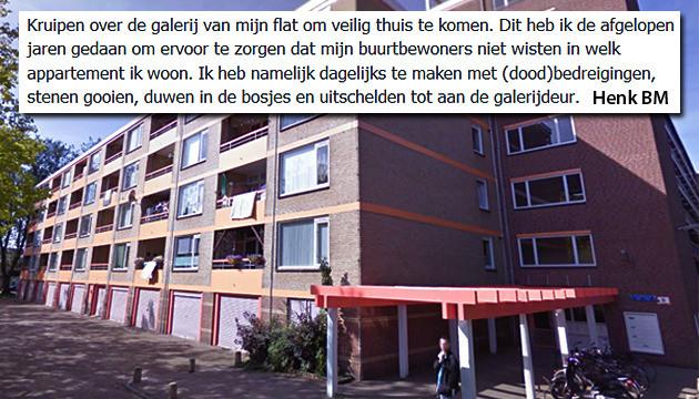 Een van de flats Arendshorst in de Amersfoortse wijk Liendert.