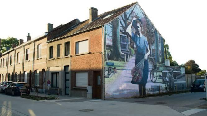 """Nieuwe Kom op voor je wijk-muurschildering: """"Eerbetoon aan verzetstrijdster Hortense Daman"""""""