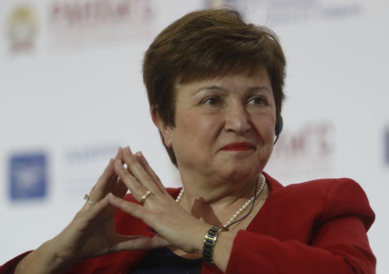 Kristalina Georgieva, de beoogd opvolger van Christine Lagarde als directeur van het IMF.  Beeld REUTERS