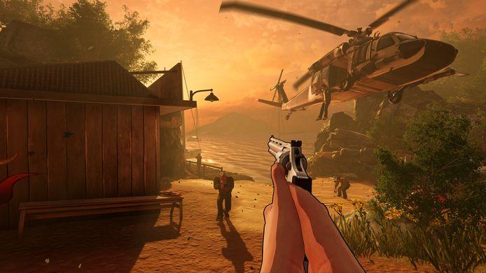 Er zit iets meer glans op de graphics van XIII, maar de game vertoont veel te veel schoonheidsfouten.