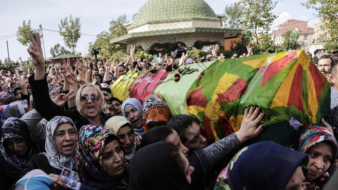 Bij aanslagen in Ankara in oktober vielen meer dan honderd doden