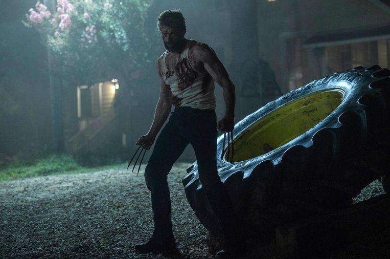 Jackman zet een ijzersterke superheldenfilm op zijn naam. Beeld Ben Rothstein, Twentieth Century Fox