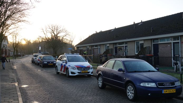 Een woningoverval aan de Kerkweg in Bergentheim.