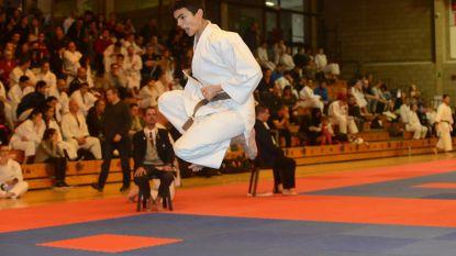 Brecht Vlaminck van Shoku-kan bij nationale selectie karate