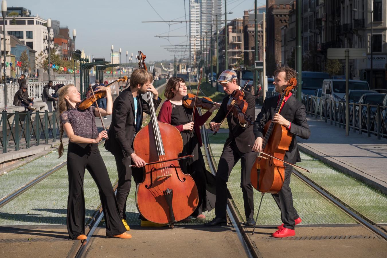 St. George Quintet neemt het publiek op een muzikale reis