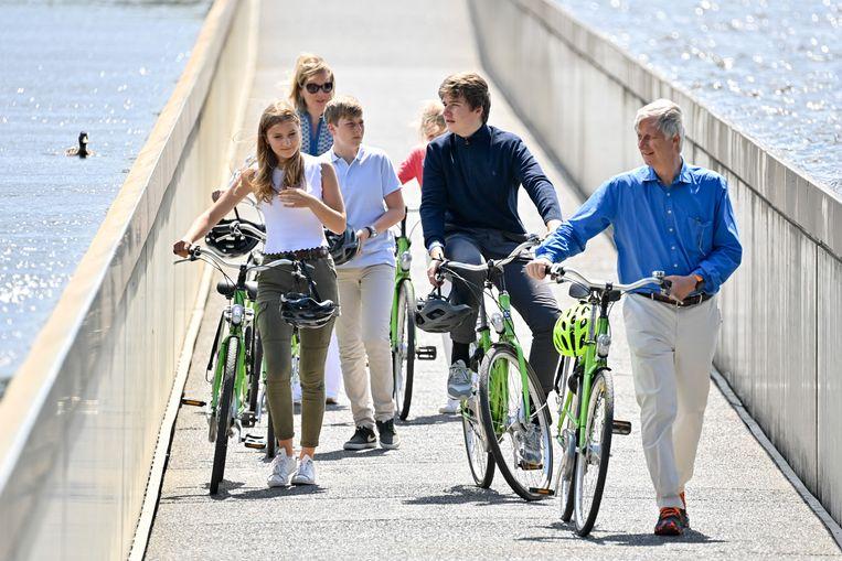Per fiets door Bokrijk. Beeld Reporters / GYS