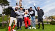 Mickey Mouse krijgt Franse wereldkampioenen over de vloer in Disneyland Paris