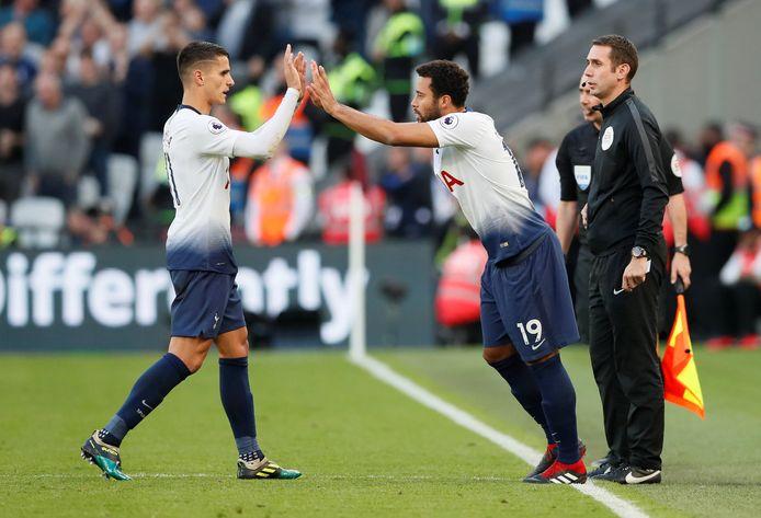 Moussa Dembélé viel in de slotfase in.
