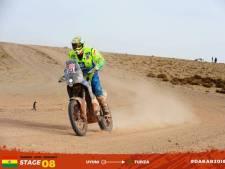 Rijswijker Straver snelste Nederlandse motorrijder in eerste etappe Dakar Rally: 'Een mooi begin'