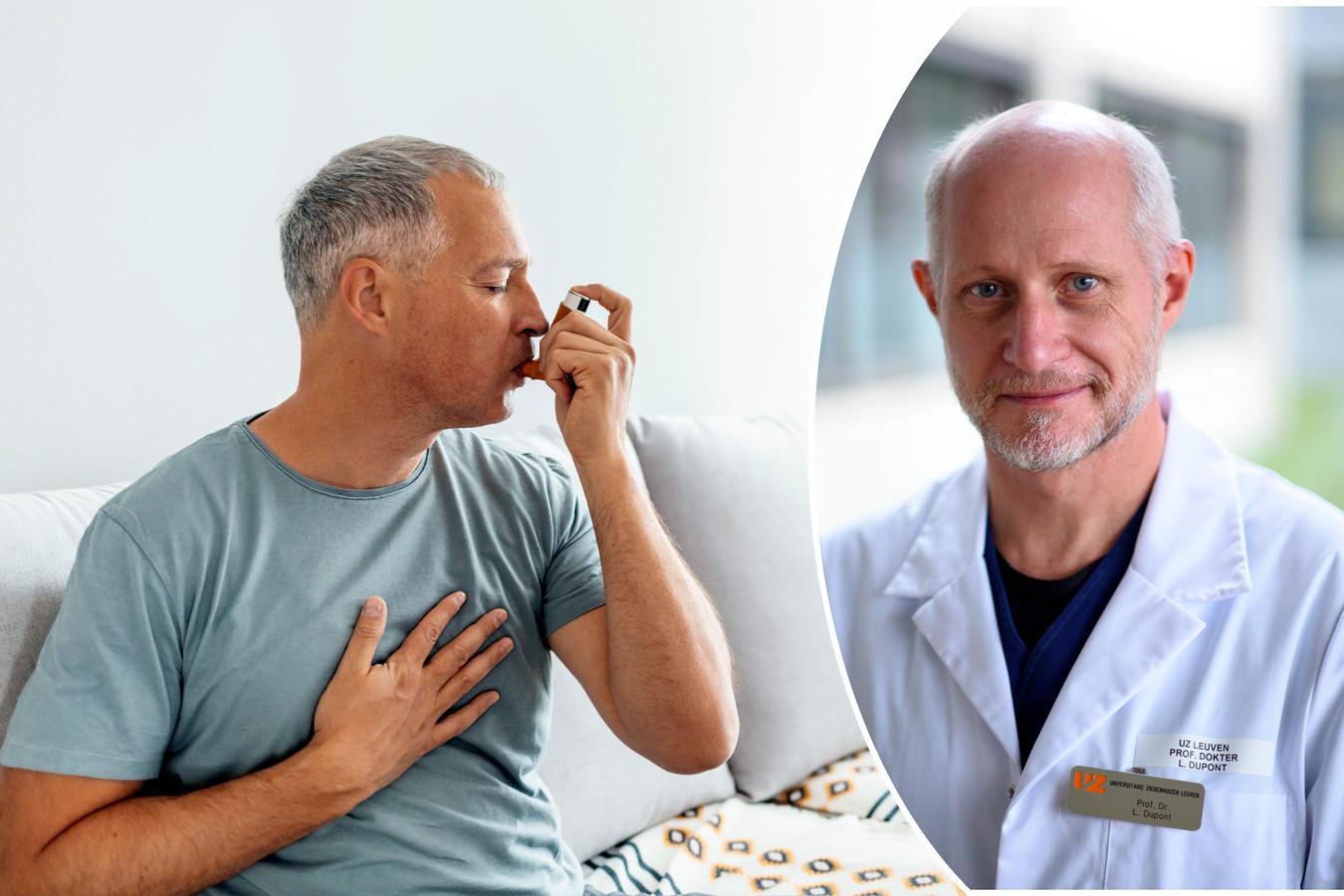 """""""Il y a des gens qui ont de l'asthme sans même s'en rendre compte""""."""
