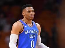 Triple double-koning Westbrook zet weer record neer in NBA