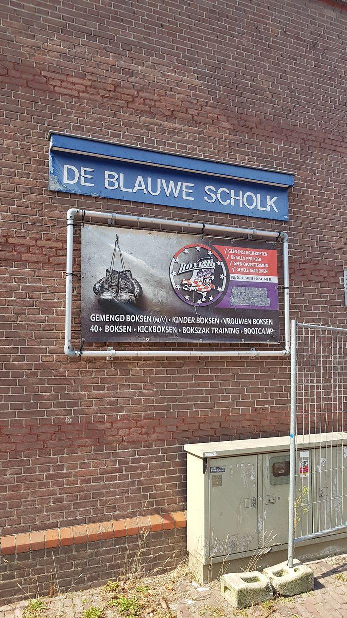 Er werd onder meer ooit geleerd, gedanst en gesport in De Blauwe Scholk.