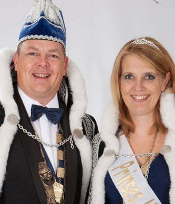 Prins Martijn d'n Urste en prinses Mieke