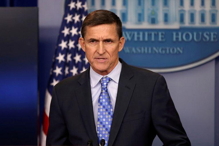 Michael Flynn, february 2017.  Beeld REUTERS