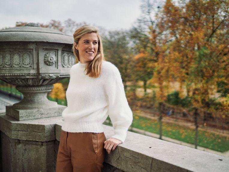 Minister van Binnenlandse Zaken Annelies Verlinden (CD&V). Beeld Thomas Sweertvaegher