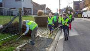 Leerlingen maken Pepingse straten zwerfvuilvrij