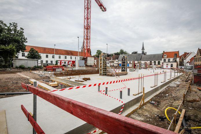 De bouw van de nieuwe school op de oude VTI-terreinen is gestart.